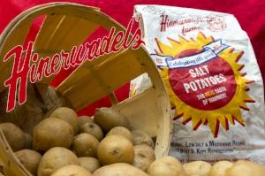 Hinerwadels is a Syracuse establishment famous for their clam bakes....and their salt potatoes!