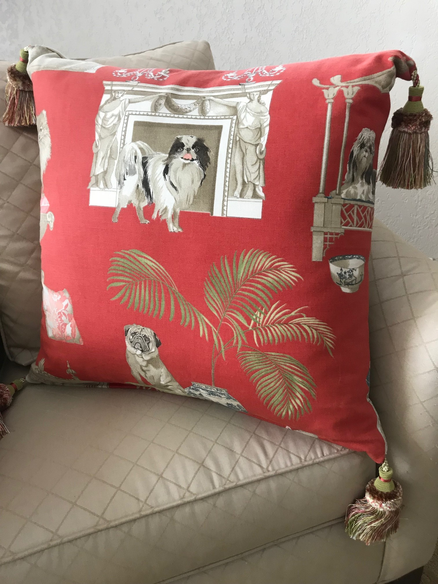 Creative Uses For Fabric Remnants And Leftover Wallpaper